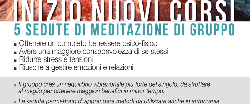 Program Meditation Training di Gruppo